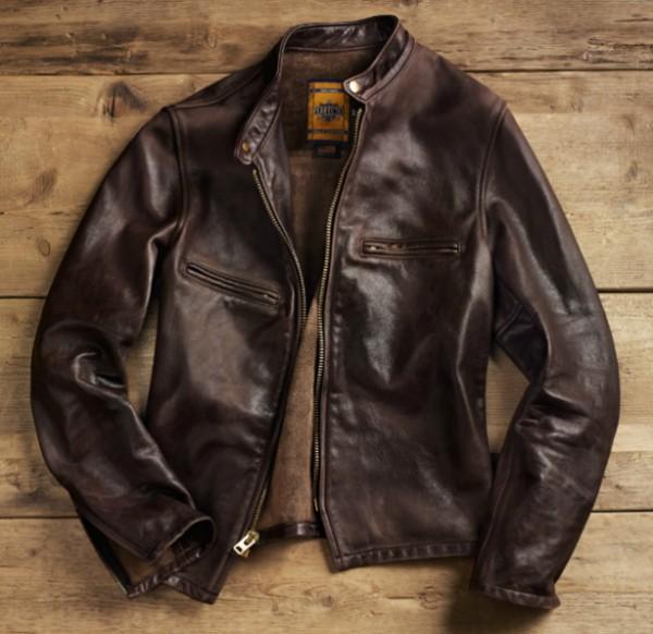 schott x restoration hardware leather jacket. Black Bedroom Furniture Sets. Home Design Ideas