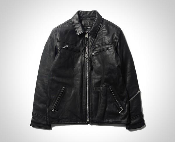 Neighborhood B.I. Black Hills Leather Jacket