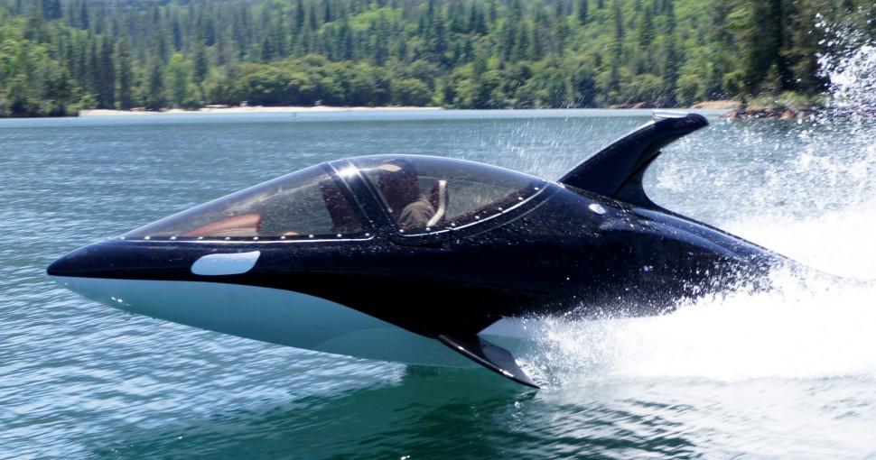 лодка которая прыгает