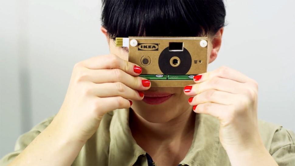 Cardboard Digital Rangefinder Camera
