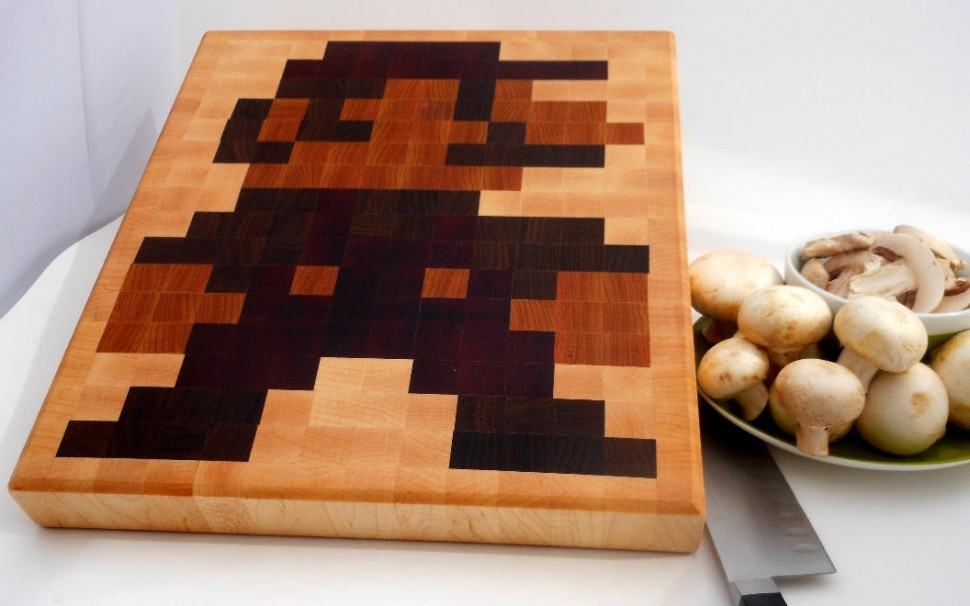 Mario Cutting Board