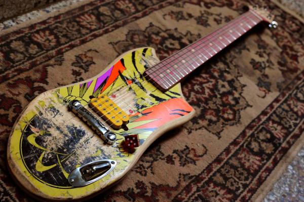 Galasso Skate Guitars