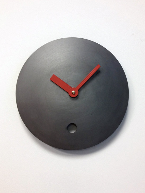 Michael Siney Steel Wall Clock | Photos | So Freaking Cool