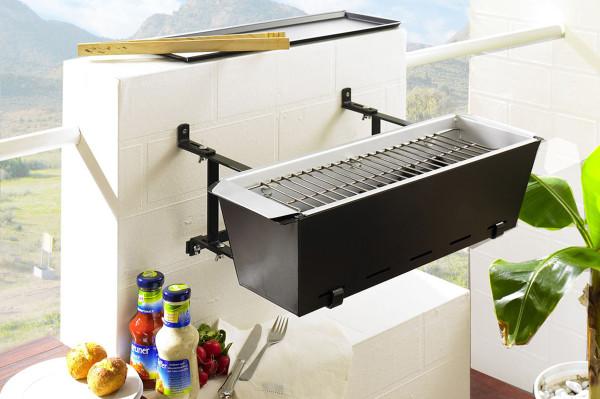 Handrail BBQ Grill