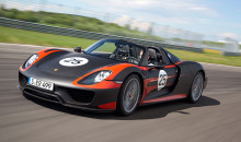 Porsche 918 Spyder Hybrid: The Future's Coming Fast