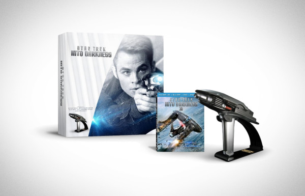 Star Trek Into Darkness Starfleet Phaser Special Edition Blu-ray Set