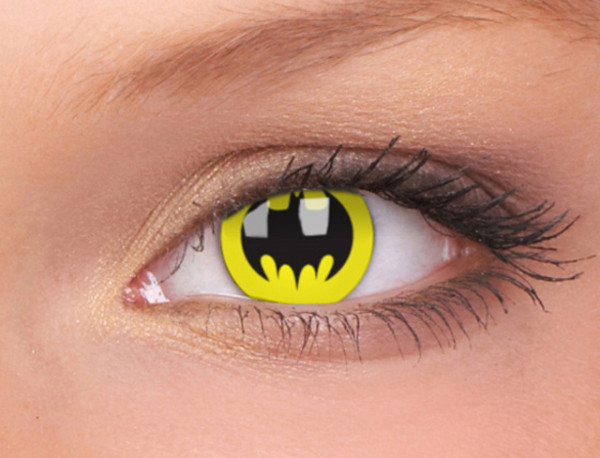 Bat Crusader Contact Lenses