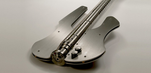 Stash Stainless Steel Bass Guitar