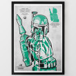Star Wars Target Shooting Range Prints