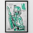 Star Wars Target Shooting Range Prints