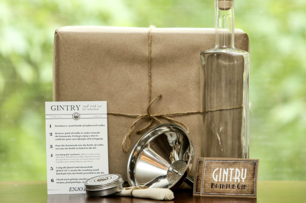 Gintry & Co.'s handcrafted gin pack