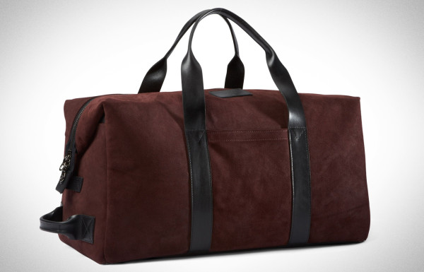 Killspencer Burgundy Italian Oil Suede Collection