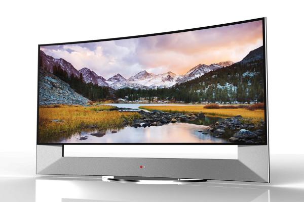LG 105-Inch Curved UltraHD TV