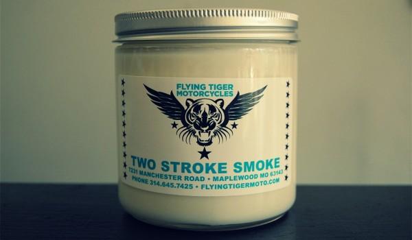 Two Stroke Smoke Candle
