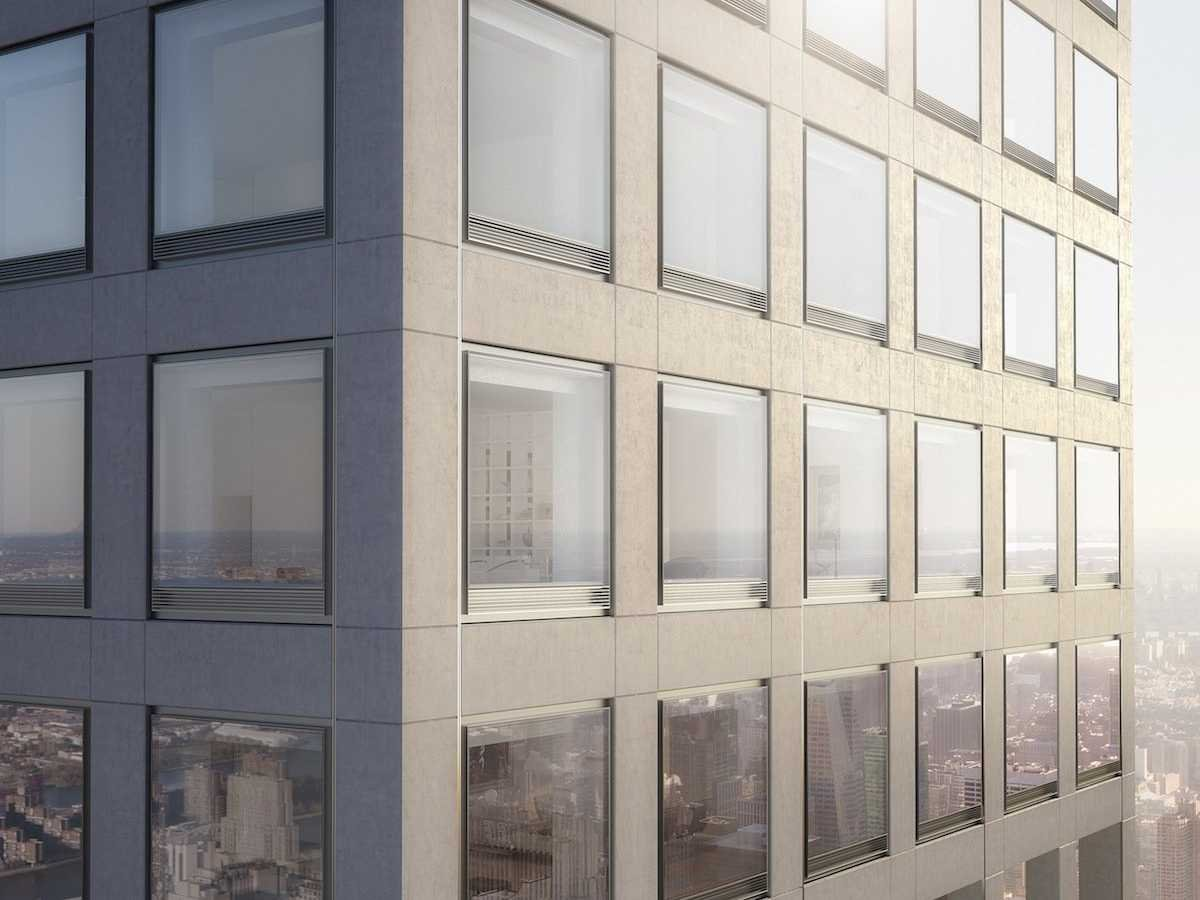 Stare down at the common folk in new york 39 s tallest for New residential windows
