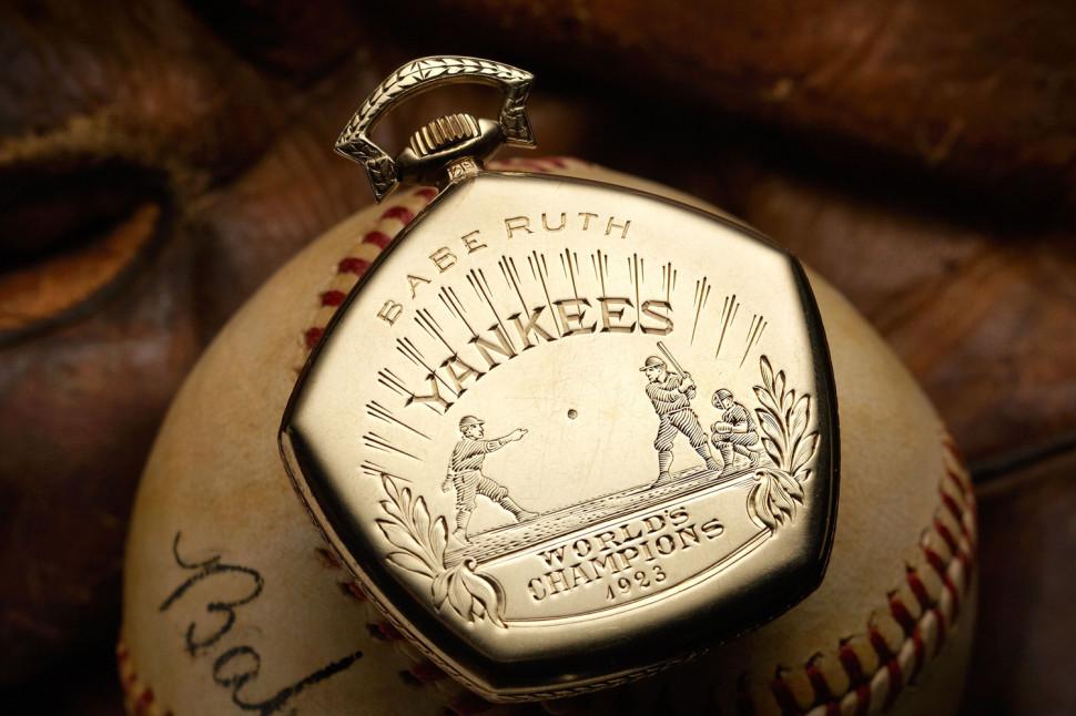 Babe Ruth 1923 World Series Antique Watch 01