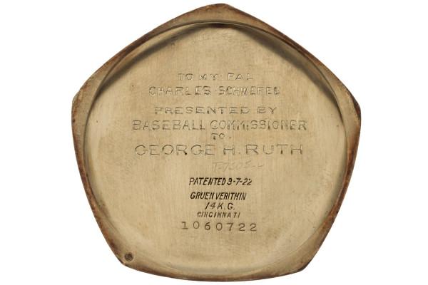 Babe Ruth 1923 World Series Antique Watch 02