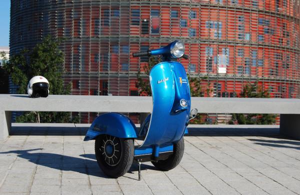 2013 Bel&Bel Zero Scooter prototype (Vespa, Segway)