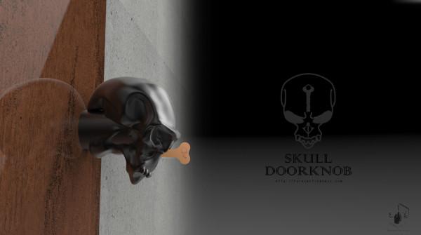 Skull Doorknobs