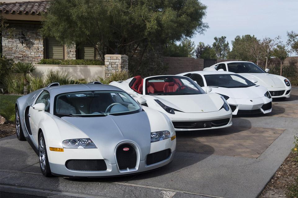 Floyd Mayweather Car Collection Bugattis Lamborghinis And Rolls Royces