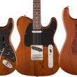 Fender Reclaimed Wood Guitars