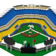 Legos Dodger Stadium