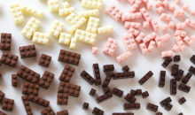 Stackable, Edible Chocolate LEGOs